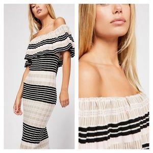 New Free People Off Duty Knit Maxi Dress